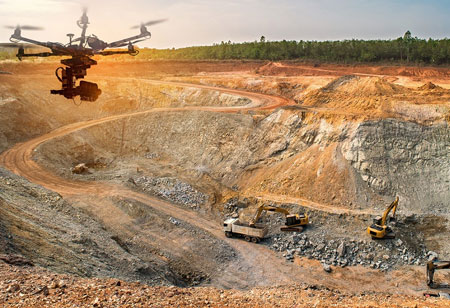 Mining Industry: Drone and its Influence