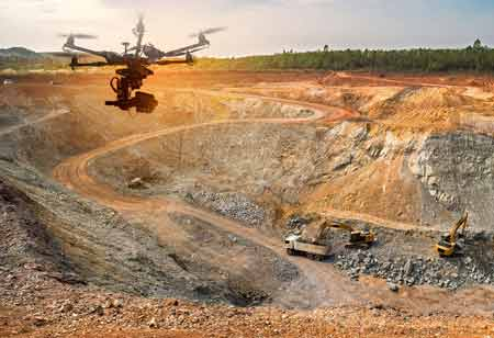 Can Drone Development Bring Better Performance in The Mining Industry?