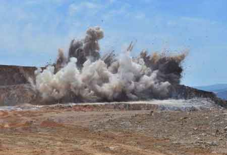 How Does Blasting Solution Work in the Mining Industry?