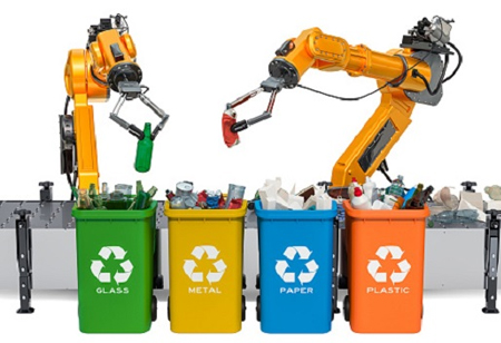Why Recycling Facilities are Using Robots and AI