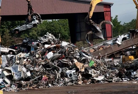What are the Different Processes Involved in Scrap Metal Recycling