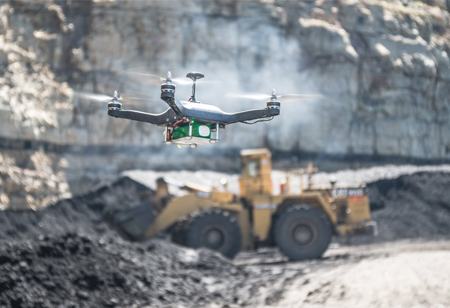 How Drones Help with Mining