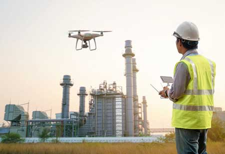 What are Drones used for in the Mining Industry?