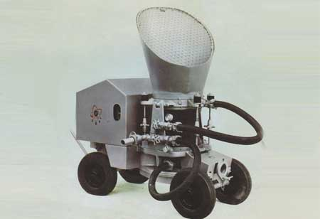 What is the Latest Development in the Concrete Spraying Machinery?